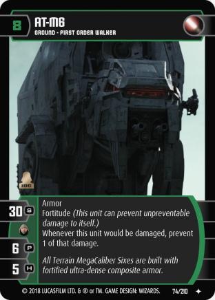 Star Wars Trading Card Game TLJ074_AT_M6