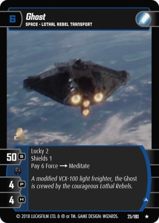 Star Wars Trading Card Game RO025_Ghost_A