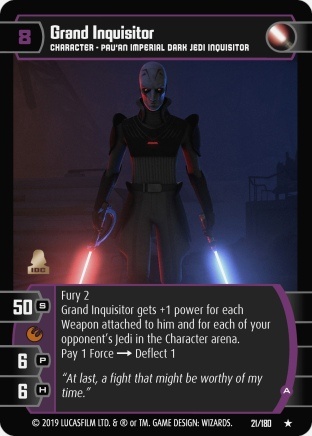Star Wars Trading Card Game SOR021_Grand_Inquisitor_A