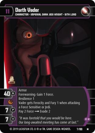 Star Wars Trading Card Game SOR007_Darth_Vader_C2
