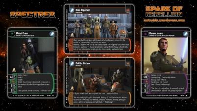 Star Wars Trading Card Game SOR Wallpaper 3 - Spectres