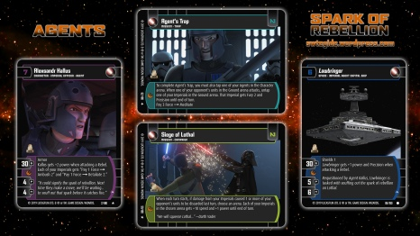 Star Wars Trading Card Game SOR Wallpaper 4 - Agents