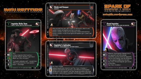 Star Wars Trading Card Game SOR Wallpaper 5 - Inquisitors