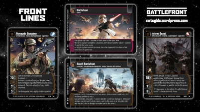 Star Wars Trading Card Game BF Wallpaper 1 - Front Lines