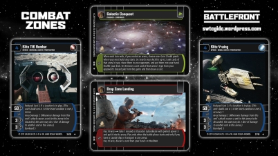 Star Wars Trading Card Game BF Wallpaper 2 - Combat Zones