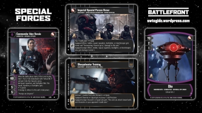 Star Wars Trading Card Game BF Wallpaper 3 - Special Forces