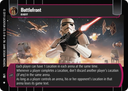 Star Wars Trading Card Game BF001_Battlefront