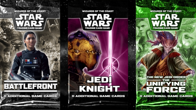 Star Wars Trading Card Game Triple Expansion Announcement
