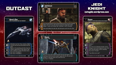 Star Wars Trading Card Game JK Wallpaper 2 - Outcast