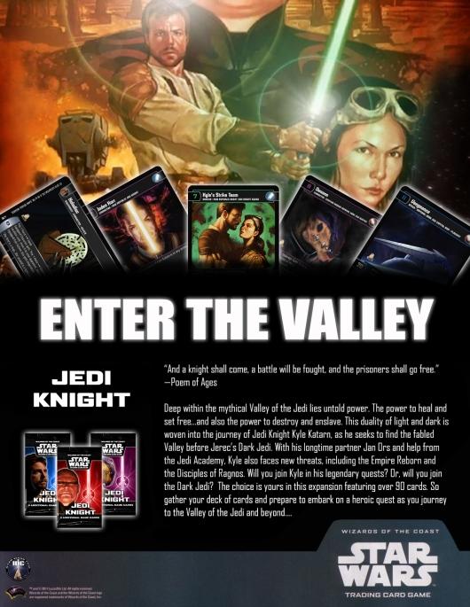 SWTCG JK (Jedi Knight) Poster