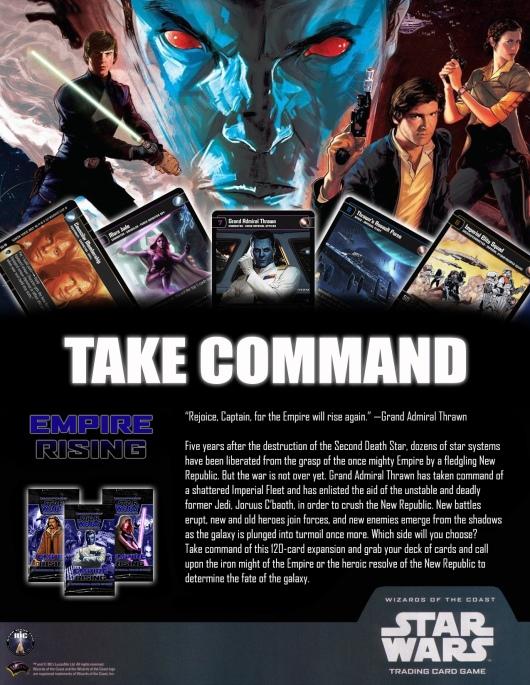 SWTCG ER (Empire Rising) Poster