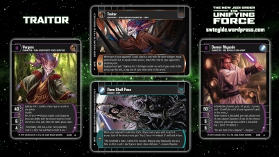 Star Wars Trading Card Game The Unifying Force Wallpaper 1 - Traitor