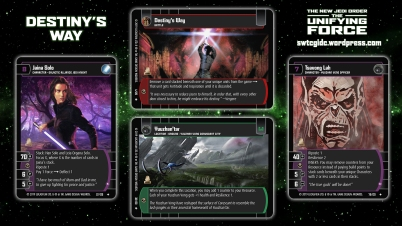 Star Wars Trading Card Game The Unifying Force Wallpaper 2 - Destiny's Way