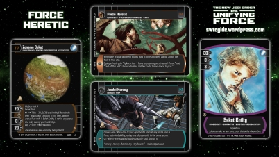 Star Wars Trading Card Game The Unifying Force Wallpaper 3 - Force Heretic
