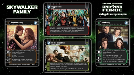 Star Wars Trading Card Game The Unifying Force Wallpaper 4 - Skywalker Family
