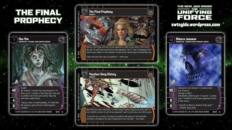 Star Wars Trading Card Game The Unifying Force Wallpaper 5 - The Final Prophecy