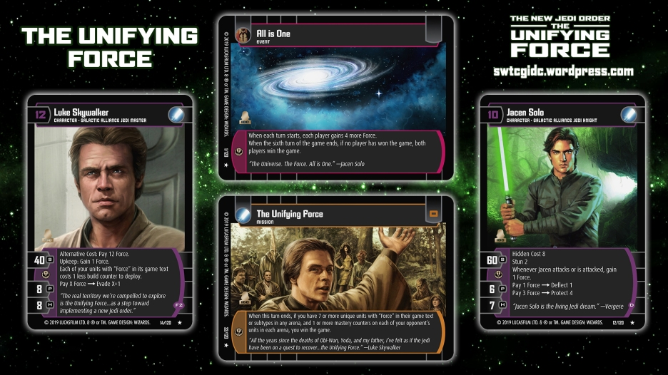 Star Wars Trading Card Game The Unifying Force Wallpaper 6 - The Unifying Force