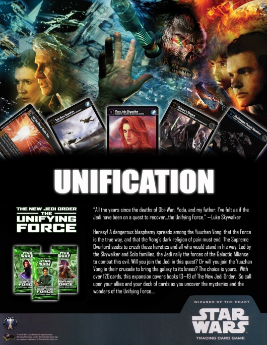 SWTCG TUF (The Unifying Force) Poster