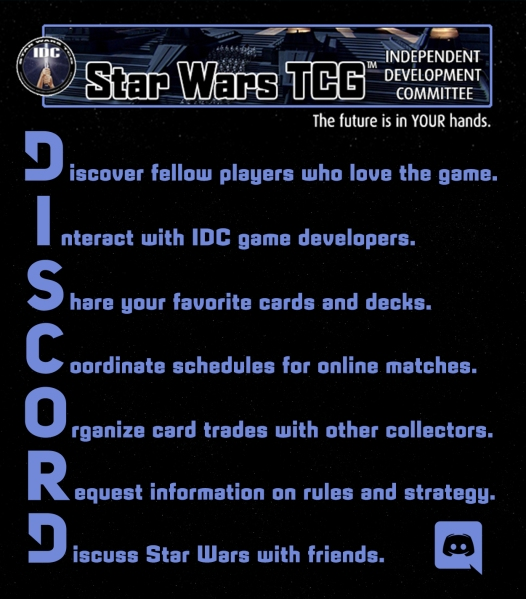 Star Wars Trading Card Game Discord