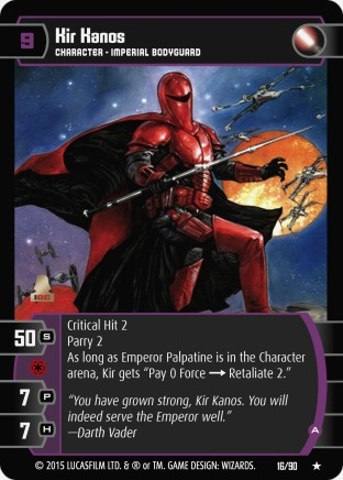 Star Wars Trading Card Game EE016_Kir_Kanos_A