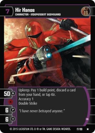 Star Wars Trading Card Game EE017_Kir_Kanos_B