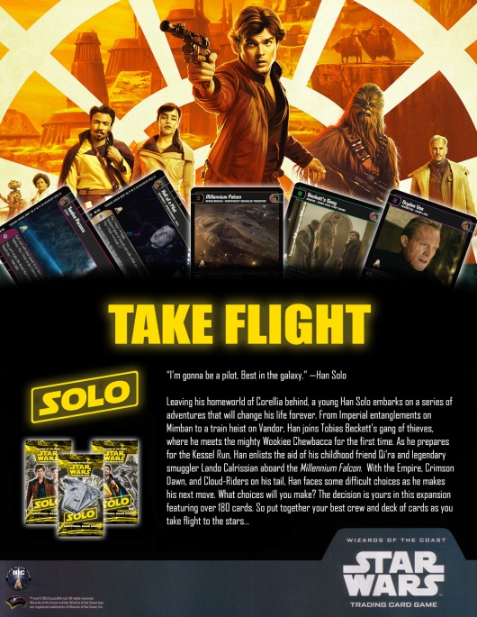 SWTCG SOLO Poster