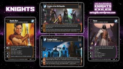 Star Wars Trading Card Game KAE Wallpaper 1 - Knights