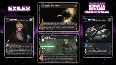 Star Wars Trading Card Game KAE Wallpaper 2 - Exiles