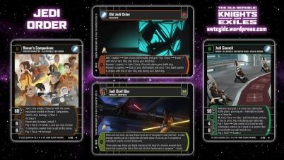 Star Wars Trading Card Game KAE Wallpaper 3 - Jedi Order
