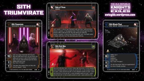 Star Wars Trading Card Game KAE Wallpaper 4 - Sith Triumvirate