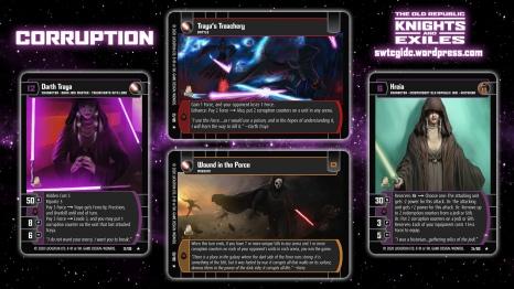 Star Wars Trading Card Game KAE Wallpaper 5 - Corruption