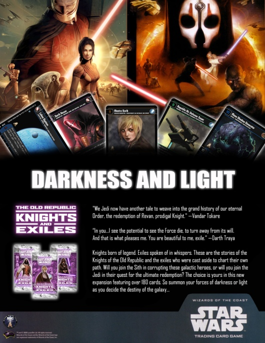 SWTCG KAE (Knights and Exiles) Poster
