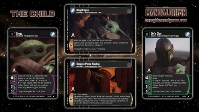 Star Wars Trading Card Game TM Wallpaper 1 - The Child