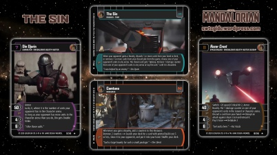 Star Wars Trading Card Game TM Wallpaper 2 - The Sin