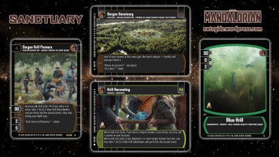 Star Wars Trading Card Game TM Wallpaper 3 - Sanctuary