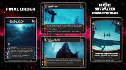 Star Wars Trading Card Game TROS Wallpaper 2 - Final Order