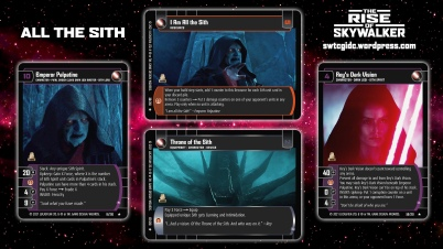Star Wars Trading Card Game TROS Wallpaper 3 - All the Sith
