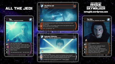 Star Wars Trading Card Game TROS Wallpaper 4 - All the Jedi