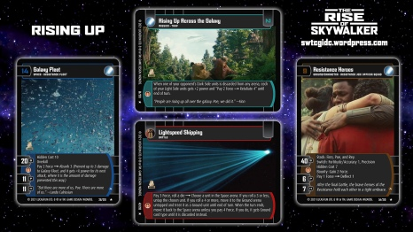 Star Wars Trading Card Game TROS Wallpaper 5 - Rising Up