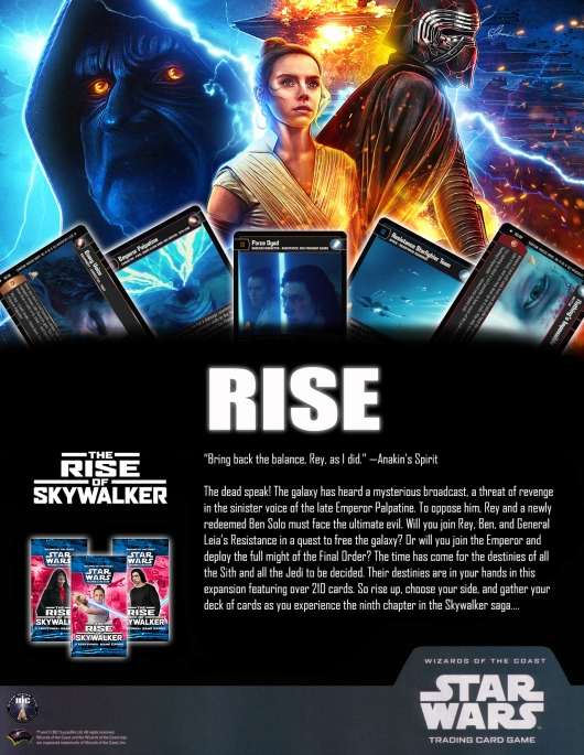SWTCG TROS (The Rise of Skywalker) Poster